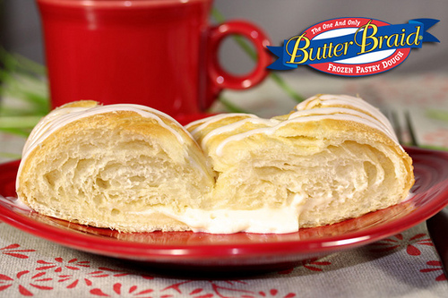 Cream Cheese Butter Braid Pastry
