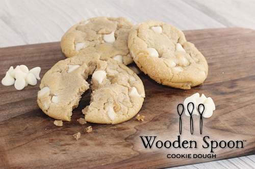 White Chocolate Macadamia Nut Break-and-Bake Cookie Dough