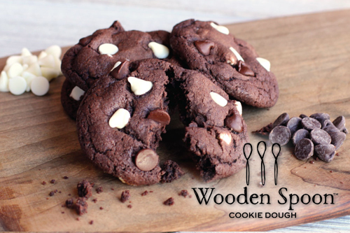 Triple Chocolate Break-and-Bake Cookie Dough
